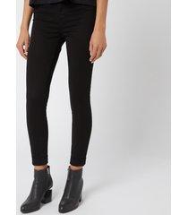 j brand women's anja jeans - black - w26/l32 - black