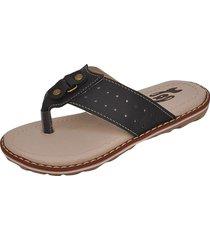 sandália infantil raniel calçados papete chinelo dedo preto
