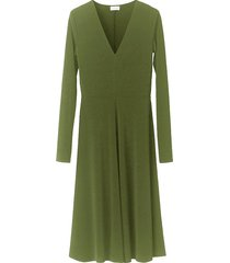bellucia dress in winter moss