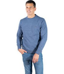 sweater azul  pato pampa base tramado catamarca