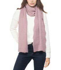 inc chevron knit muffler scarf, created for macy's