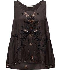 dolomite tanktop blouse mouwloos zwart odd molly