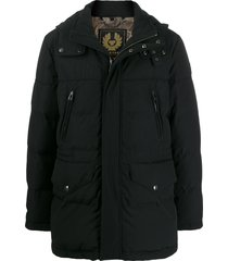 belstaff short padded coat - black