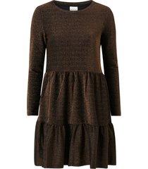 klänning viglowa glitter o-neck l/s dress