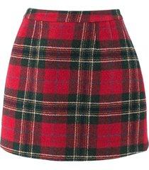red valentino virgin wool skirt