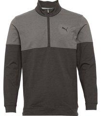 warm up 1/4 zip sweat-shirt tröja puma golf