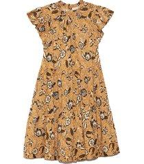 kasim dress in amber