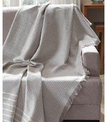 manta para sofá dohler genova bege, 150 x 120 cm