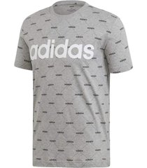 camiseta adidas core fav t masculina ei6280, cor: cinza claro, tamanho: g - cinza - masculino - dafiti