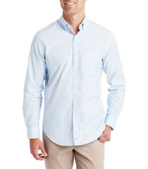 vineyard vines end on end classic fit sport shirt, size x-large in jake blue at nordstrom