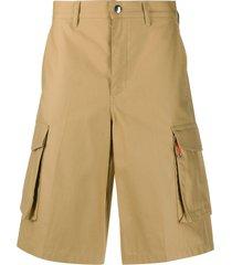 givenchy oversized pocket-style cargo shorts - neutrals