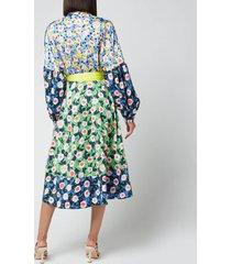 stine goya women's karla dress - flowermarket mix - l