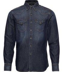 shirt overhemd casual blauw replay