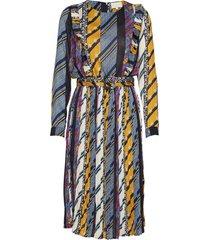 kenzie dress jurk knielengte multi/patroon minus
