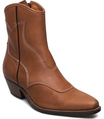 stb-arietta l shoes boots ankle boots ankle boot - heel brun shoe the bear