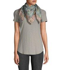 brocade floral scarf