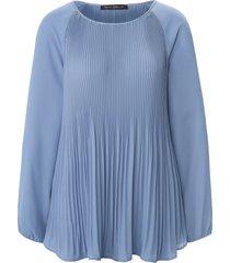 blouse lange raglanmouwen van betty barclay blauw