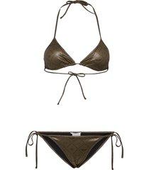 iconic blueys bikini bikini grön zadig & voltaire