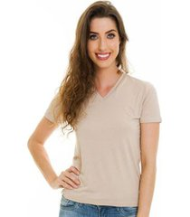 blusa básica decote v jogabe feminina