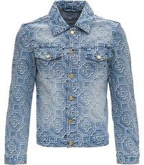 jacket with jacquard