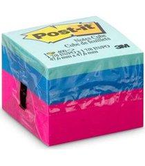 bloco adesivo post it 3m cubo ultra 47,5x47,5mm 400 folhas