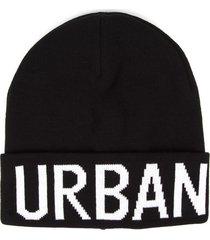 lhu urban black urban acrylic hat