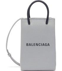 'shopping' tech pouch