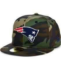 new era new england patriots woodland 59fifty cap