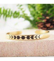 bransoletka fazy księżyca złota
