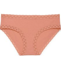 natori intimates bliss girl brief panty, women's, 100% cotton, size xs