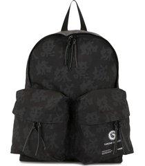 undercover multi-pocket backpack - black