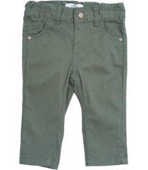 pantalon de bebo surtido colores verde  pillin