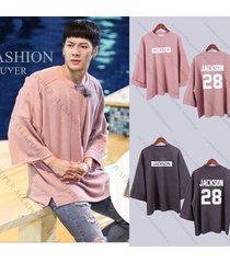 kpop got7 merchandise jackson wide sleeve sweater new hoodie pullover bambam jb