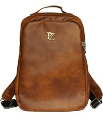 combo paparazzi morral hombre 9736 cafe+billetera 9739 cafe
