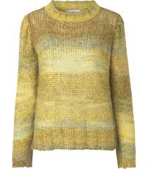 lotus knit blouse