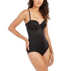 spanx women's suit your fancy strapless cupped panty bodysuit 10205r