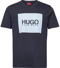 dolive_u212 t-shirts short-sleeved blå hugo