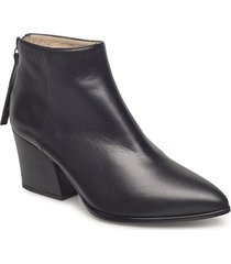 leiki_na shoes boots ankle boots ankle boots with heel svart unisa