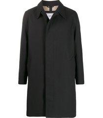 ami bonded car coat - black