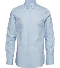 m. james stretch shirt overhemd business blauw filippa k