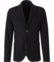 wool knit blazer