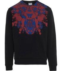 marcelo burlon front tiger regular sweatshirt