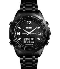 skmei 1464 reloj digital resistente al agua para hombres de negocios