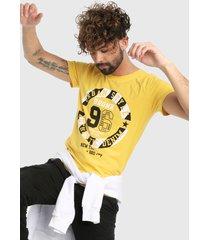camiseta amarillo-negro-blanco urban tokyo