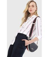 camisa blanco-azul-rojo tommy hilfiger