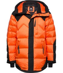 fatboy hybrid down parka 2.0 fodrad jacka orange mountain works