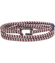 men's pig & hen savage sam multi wrap bracelet