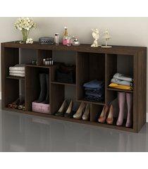 aparador/estante rústico e1712 - tecno mobili