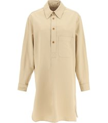 lemaire liquette shirt dress