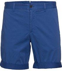 nathan-super satin shorts chinos shorts blå j. lindeberg